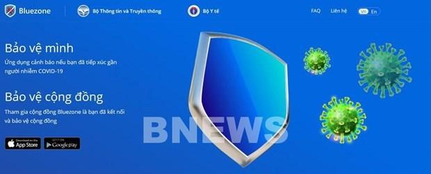 Aplicacion de Bluezone llega a 26 millones de instalaciones hinh anh 1