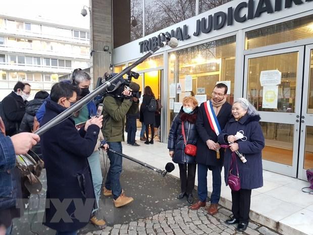 Apoyan en Francia a lucha por justicia de victimas de dioxina en Vietnam hinh anh 1
