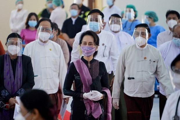 Myanmar: detenida la lider Aung San Suu Kyi hinh anh 1