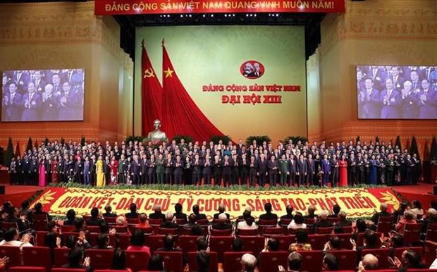 Presentado el Comite Central del Partido Comunista de Vietnam del XIII mandato hinh anh 1