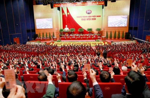 XIII Congreso Nacional del Partido es un exito, afirma maximo dirigente de Vietnam hinh anh 2