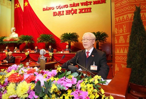 XIII Congreso Nacional del Partido es un exito, afirma maximo dirigente de Vietnam hinh anh 1