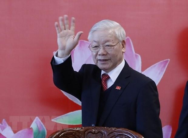 Corea del Norte felicita a reelegido secretario general del Partido Comunista de Vietnam hinh anh 1