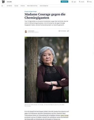 Lucha por justicia para victimas vietnamitas de dioxina en el foco de atencion de prensa europea hinh anh 3
