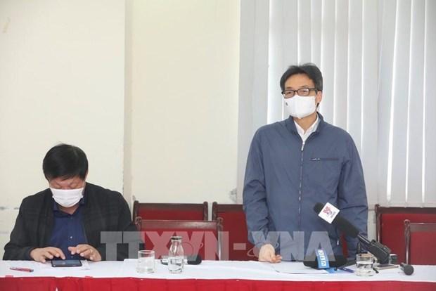 Hanoi completara toma de muestras de COVID-19 antes del 4 de febrero hinh anh 1