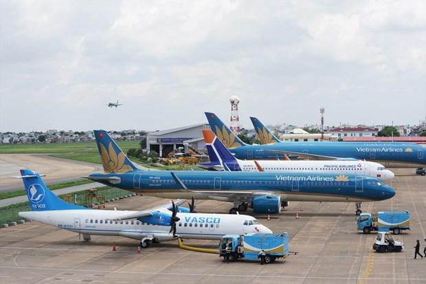 Vietnam Airlines reduce 59 por ciento de su ingreso en 2020 por COVID-19 hinh anh 1