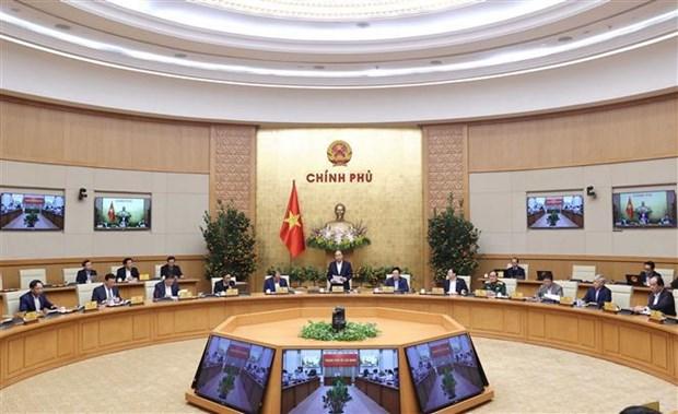 Primer Ministro de Vietnam insta a fortalecer control epidemico ante festividades del Tet hinh anh 2