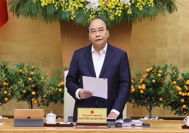 Premier vietnamita pide garantizar un Tet feliz para toda la poblacion hinh anh 1