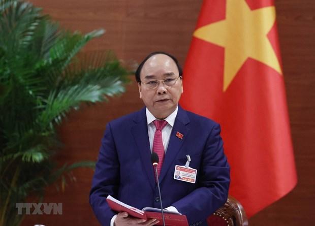 Felicita primer ministro de Laos a su homologo de Vietnam hinh anh 1