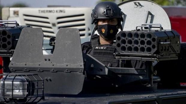 Indonesia detiene a britanica sospechosa de terrorismo hinh anh 1