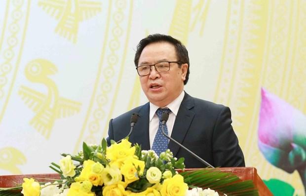 Informan resultados del congreso partidista a diplomaticos extranjeros y organizaciones internacionales hinh anh 1