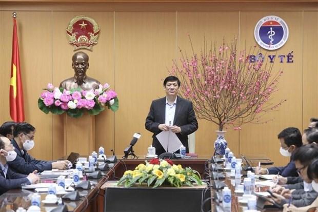 Ministro de Salud exhorta a tomar accion mas rapida en prevencion epidemica hinh anh 1