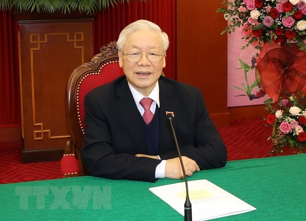 Dirigentes de Vietnam y Camboya sostienen conversaciones telefonicas hinh anh 1