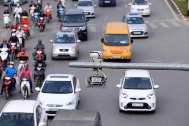 Aprueban proyecto de instalacion de camaras de control de trafico en Vietnam hinh anh 1