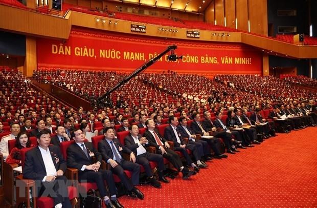 Medios internacionales: XIII Congreso partidista, base solida para el desarrollo de Vietnam hinh anh 2