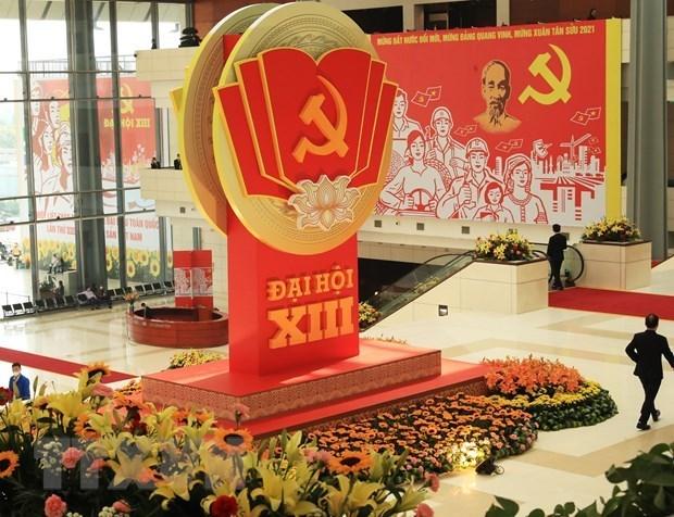 Medios internacionales: XIII Congreso partidista, base solida para el desarrollo de Vietnam hinh anh 1