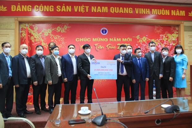 Vietnam recibe mas de 900 mil de dolares en lucha contra el COVID-19 hinh anh 1