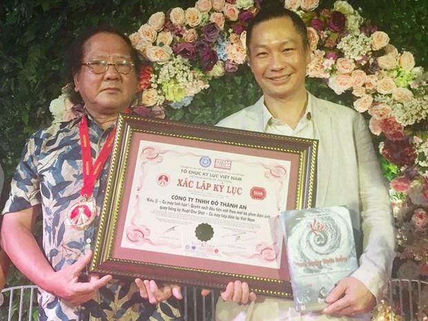 """Libro """"Kieu @- Rodaje del alma"""" recibio el Record de Vietnam hinh anh 1"""