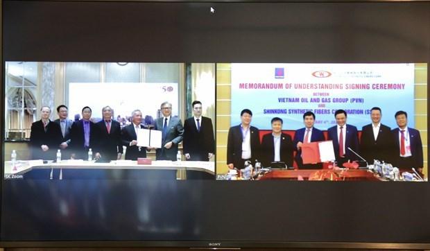 Grupo petrolero de Vietnam y empresa taiwanesa promueven cooperacion hinh anh 1