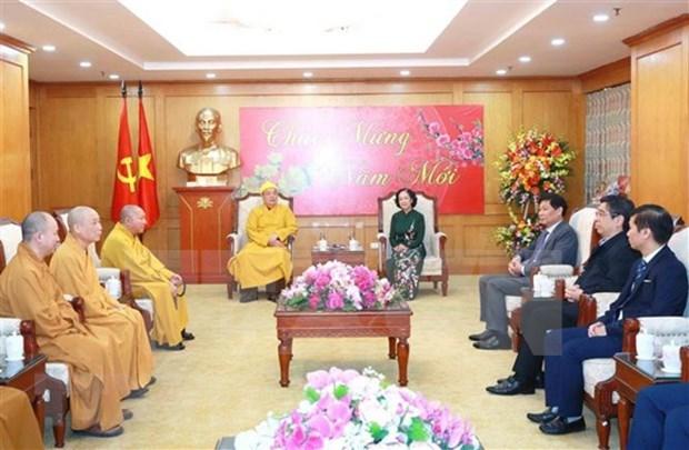 Reconocen contribuciones de comunidades religiosas al desarrollo de Vietnam hinh anh 1