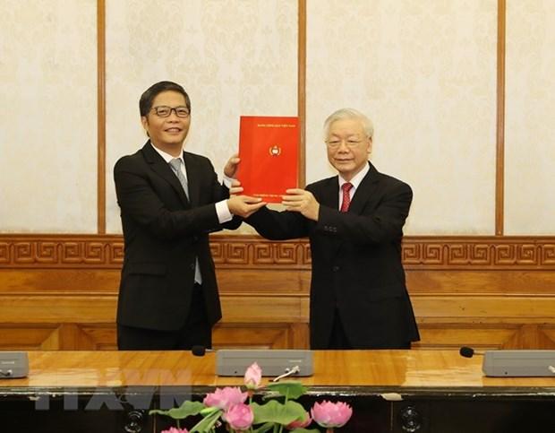 Designan dos altos dirigentes del Partido Comunista de Vietnam hinh anh 2