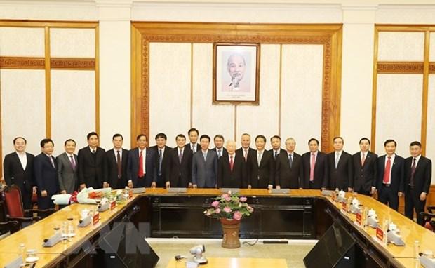 Designan dos altos dirigentes del Partido Comunista de Vietnam hinh anh 3