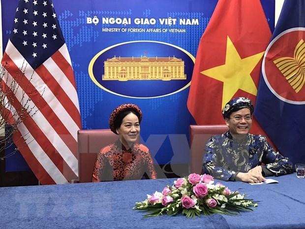 Comunidad vietnamita en EE.UU. da bienvenida al Ano Nuevo Lunar hinh anh 1