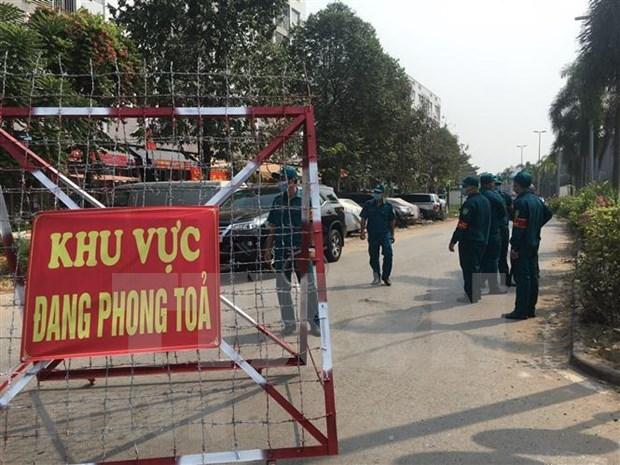 Refuerzan medidas sanitarias en numerosas partes de Vietnam hinh anh 1