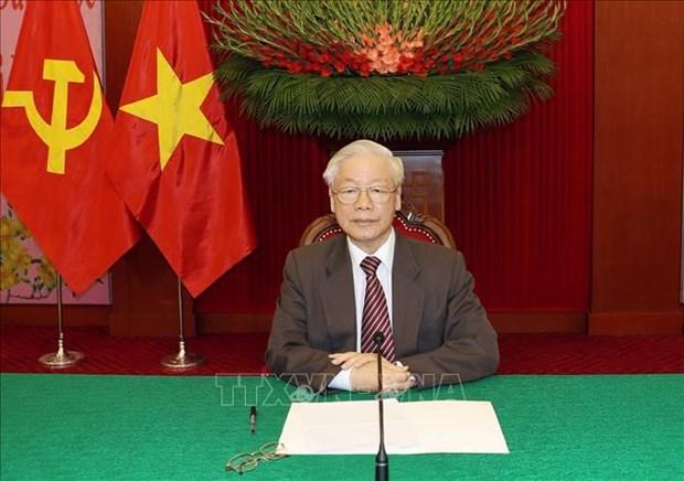 Vietnam concede importancia a la asociacion estrategica integral con Rusia hinh anh 1