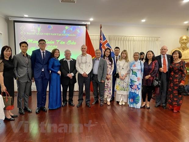 Vietnamitas en Australia, Italia y Tanzania celebran el Tet hinh anh 1