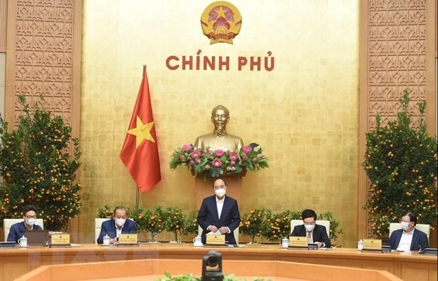 Primer ministro de Vietnam insta a una respuesta mas drastica frente a COVD-19 hinh anh 1