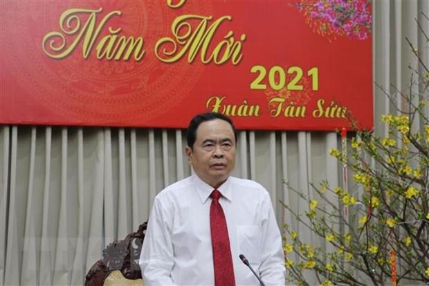 Felicitan a unidades del Ejercito y la sanidad publica de Vietnam por el Tet hinh anh 1