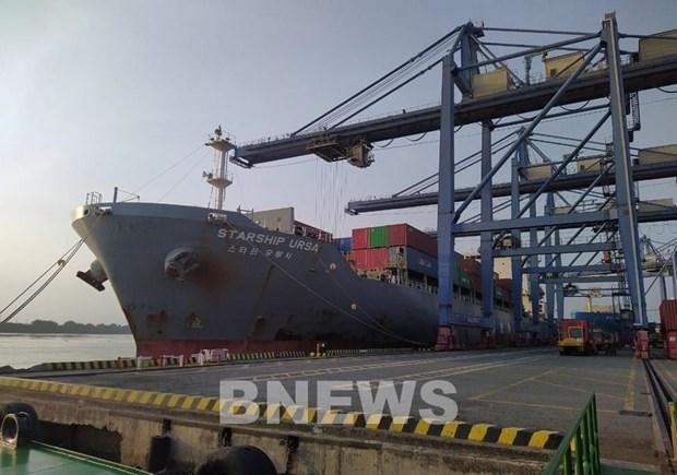 Vietnam recibe buques de carga extranjeros en primer dia del Ano Nuevo Lunar hinh anh 1