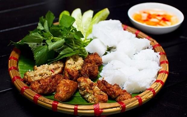 Cha ruoi – un plato especial de Hanoi hinh anh 1