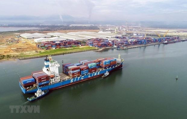 Alentador inicio de 2021 para puerto maritimo clave de Vietnam hinh anh 1