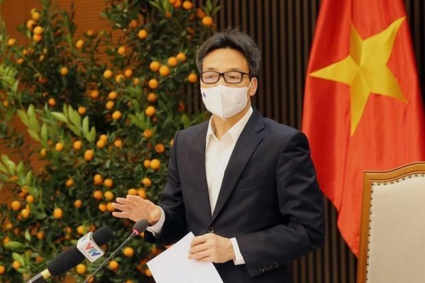 Vietnam mantiene control de situacion epidemica, afirma vicepremier hinh anh 1
