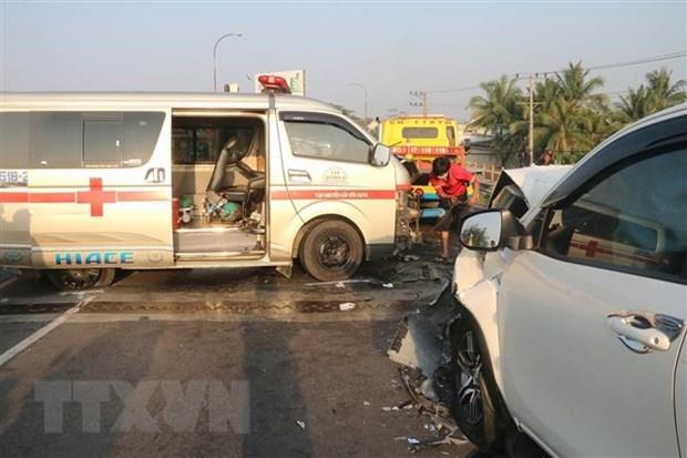 Vietnam: 15 muertos por accidentes de trafico durante tercer dia del Tet hinh anh 1