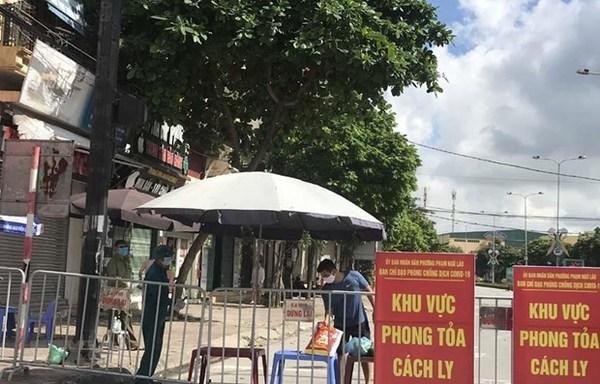 Provincia vietnamita de Hai Duong aplicara manana distanciamiento social hinh anh 1