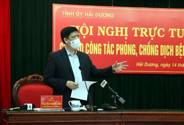 Recomiendan intensificar medidas antiCOVID-19 en provincia vietnamita de Hai Duong hinh anh 1
