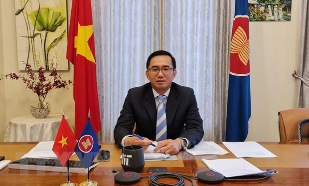 Embajador de Vietnam asume cargo de vicesecretario general de ASEAN hinh anh 1