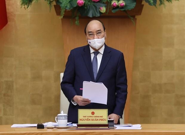 Insta premier vietnamita a acelerar trabajo de gobierno tras dias festivos hinh anh 1