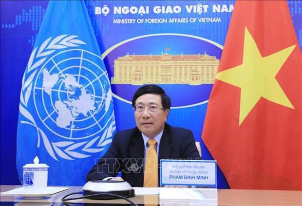Llama Vietnam a cooperacion internacional en vacunacion global contra el COVID-19 hinh anh 1