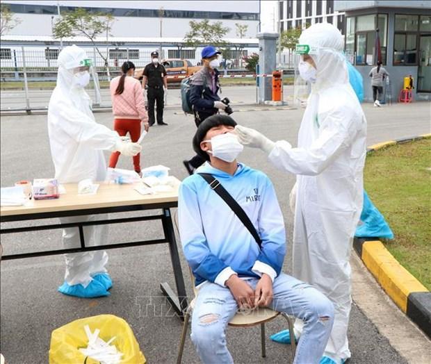 Provincia vietnamita de Hai Duong por acelerar pruebas de COVID-19 hinh anh 1