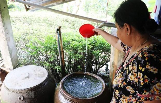 Provincia vietnamita regula fuentes de agua para produccion y vida diaria hinh anh 1