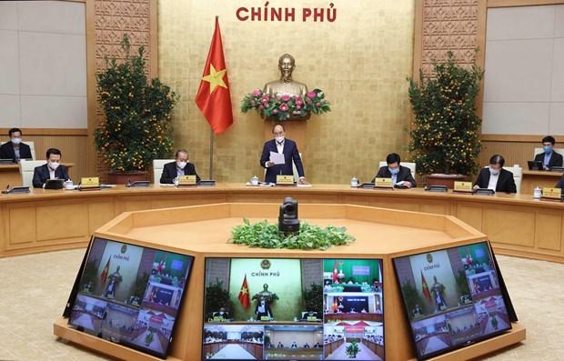 Premier vietnamita destaca importancia de economia privada y gestion de deuda publica hinh anh 1