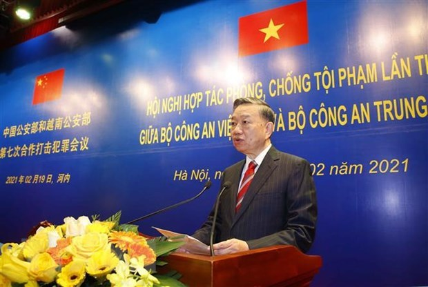 Agilizan cooperacion entre Vietnam y China en lucha contra delincuencia hinh anh 2