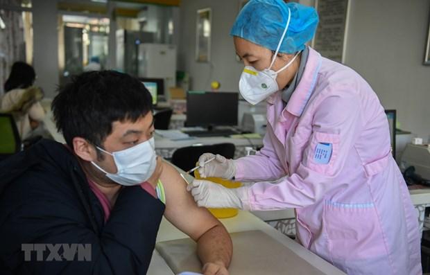 Camboya se prepara para vacunar a fuerzas en primera linea de lucha antiepidemica hinh anh 1