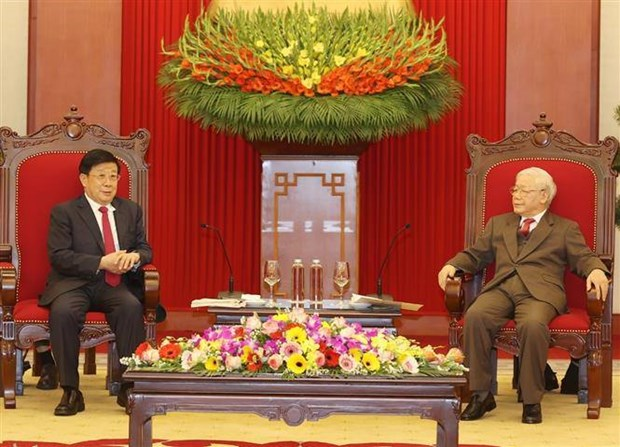 Maximo dirigente politico pide fortalecer cooperacion en seguridad con China hinh anh 1