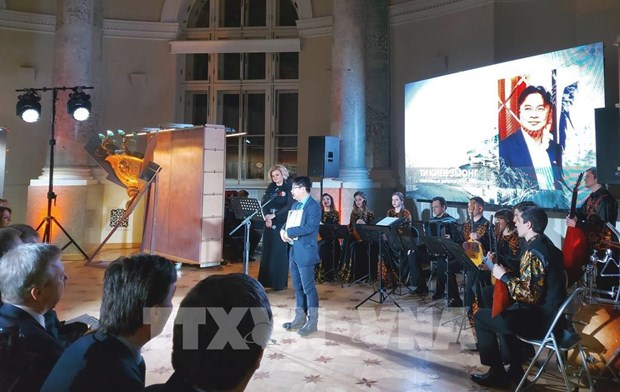 Ciudadano vietnamita recibe prestigioso premio de San Petersburgo hinh anh 2