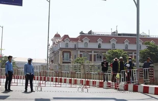 Camboya reporta tercer brote comunitario hinh anh 1